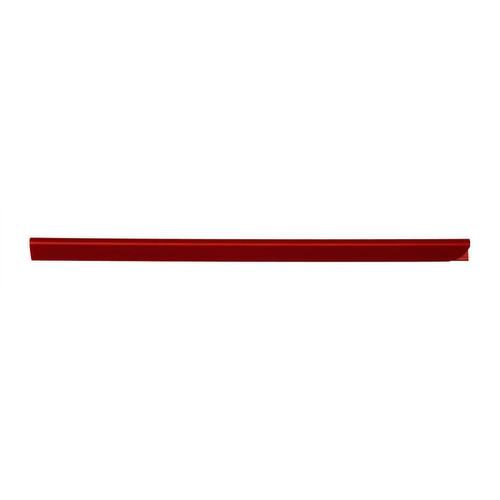 Spine Bars for 60 Sheets A4 Capacity 6mm Red [Pack 50]