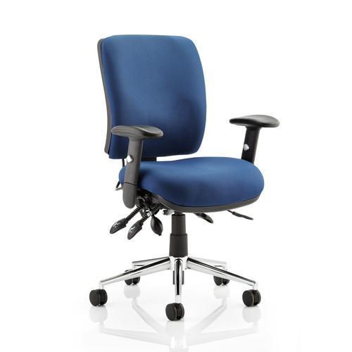 Sonix Support Chiro Chair Blue 480x460-510x480-580mm Ref OP000011