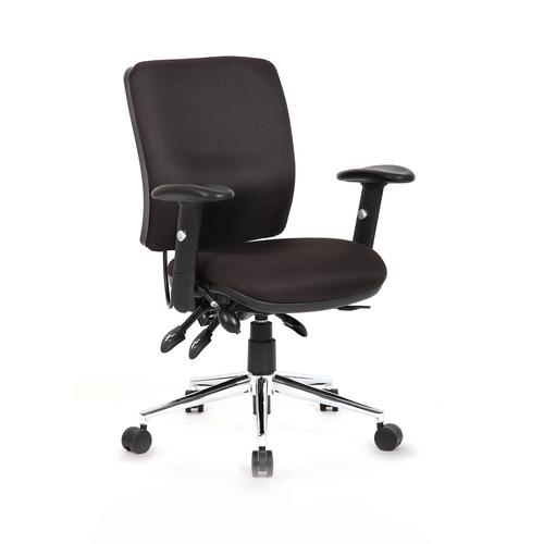 Sonix Support Chiro Chair Black 480x460-510x480-580mm Ref OP000010