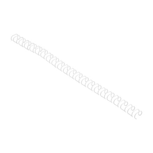 GBC Binding Wire Elements 21 Loop 100 Sheets 12mm White Ref IB165382 [Pack 100]