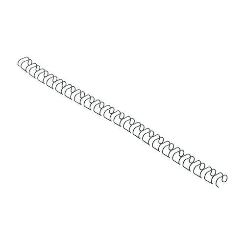 GBC Binding Wire Elements 21 Loop 70 Sheets 8mm Black Ref 165122U [Pack 100]