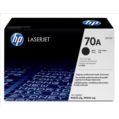 HP 70A Laser Toner Cartridge Page Life 15000pp Black Ref Q7570A