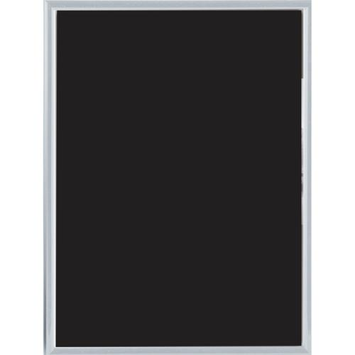Photo Frame Clip-down Aluminium with Non-glass Perspex Front Back-loading A4 297x210mm Silver