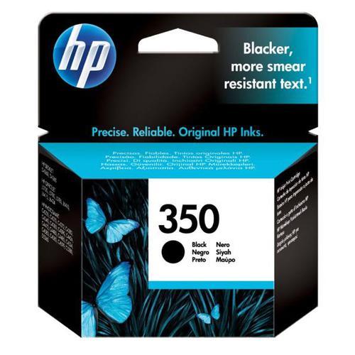 Hewlett Packard [HP] No.350 Inkjet Cartridge Page Life 200pp 4.5ml Black Ref CB335EE