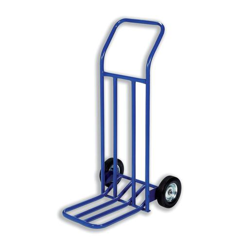 Hand Trolley Capacity 160kg Foot Size W565xL640mm Blue