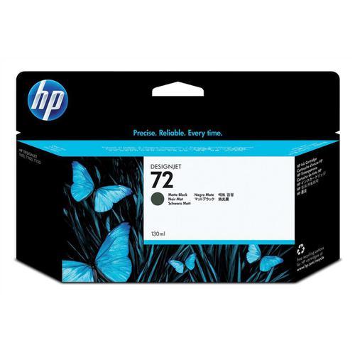 Hewlett Packard [HP] No.72 Inkjet Cartridge High Yield 130ml Matte Black Ref C9403A