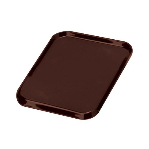 Tray Non Slip Polypropylene Dishwasher Safe W390xD290mm Brown