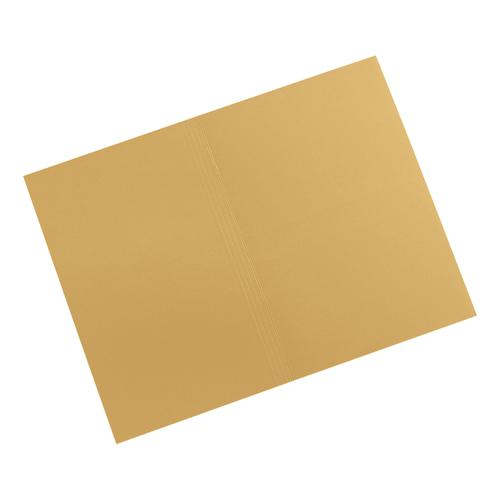 5 Star Elite Square Cut Folders 315gsm Heavyweight Manilla Foolscap Yellow [Pack 100]