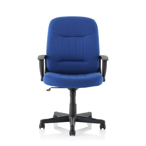 Trexus County Manager Chair Blue 520x420x420-520mm Ref