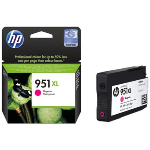 Hewlett Packard [HP] No.951XL Inkjet Cartridge High Yield Page Life 1500pp 17ml Magenta Ref CN047AE