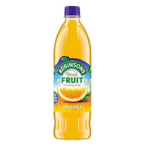 Robinsons Squash No Added Sugar 1 Litre Orange Ref 0402012 [Pack 12]
