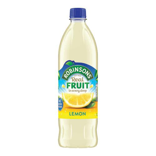 Robinsons Squash No Added Sugar 1 Litre Lemon Ref 0402044 [Pack 12]