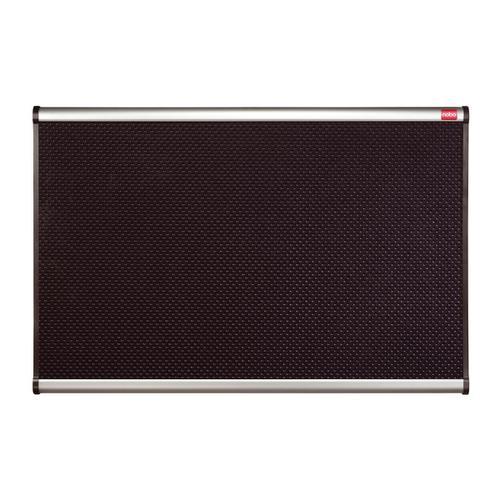 Nobo Classic Noticeboard High-density Foam with Aluminium Finish W1200xH900mm Black Ref QBPF1290