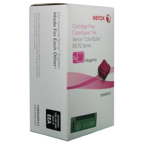 Xerox Soild Ink Sticks Page Life 4400pp Magenta Ref 108R00932 [Pack 2]