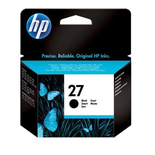 Hewlett Packard [HP] No.27 Inkjet Cartridge Page Life 280pp 10ml Black Ref C8727AE