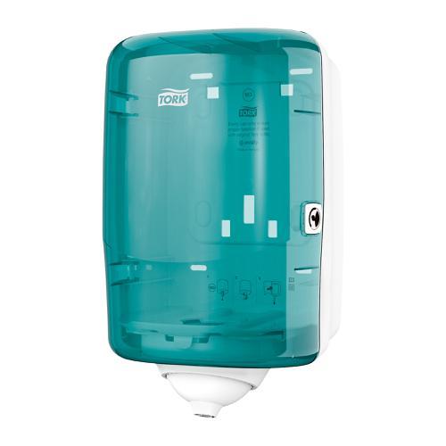Tork Reflex Single Sheet Mini Centrefeed Dispenser W191xD180xH321mm Plastic Blue Ref 473167