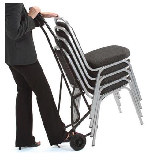 Trexus Chair Trolley for 10 Stacking Chairs Ref