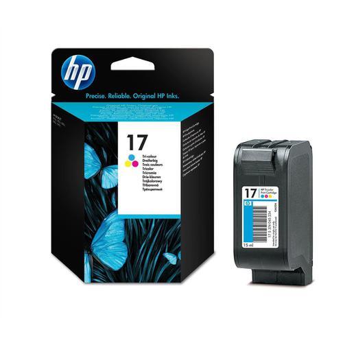 Hewlett Packard [HP] No.17 Inkjet Cartridge Page Life 480pp 15ml Tri-Colour Ref C6625A