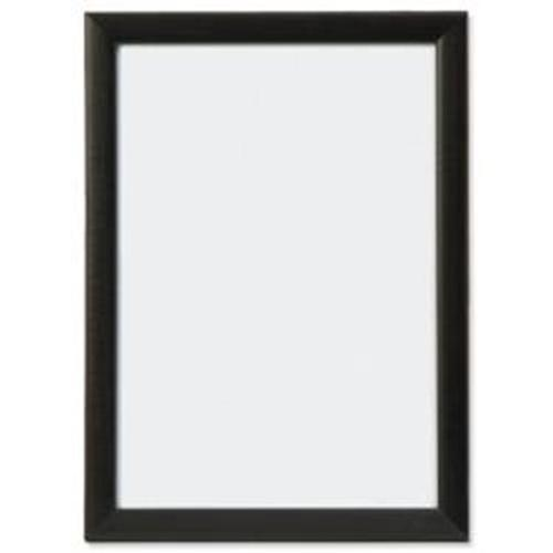 5 Star Facilities Snap Picture or Certificate Frame Polystyrene Front Back-loading A3 420x297mm Black