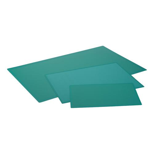 Cutting Mat Anti Slip Self Healing 3 Layers 1mm Grid on Front A2 Green Ref LXKHCM4560
