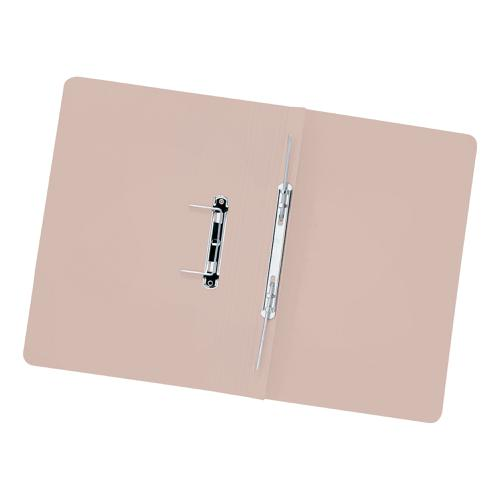 5 Star Elite Transfer Spring File Heavyweight 315gsm Capacity 38mm Foolscap Buff [Pack 50]
