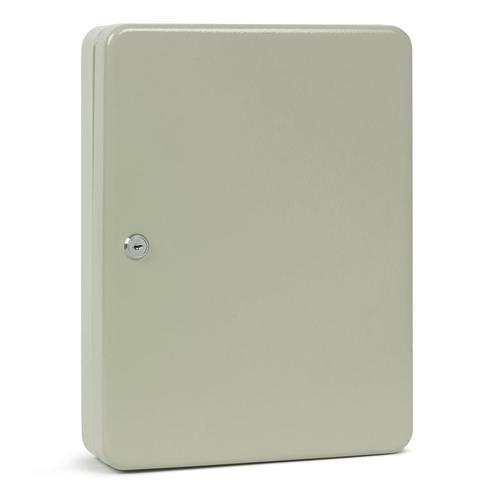 Key Cabinet Steel Lockable With Wall Fixings Holds 160 Keys Grey