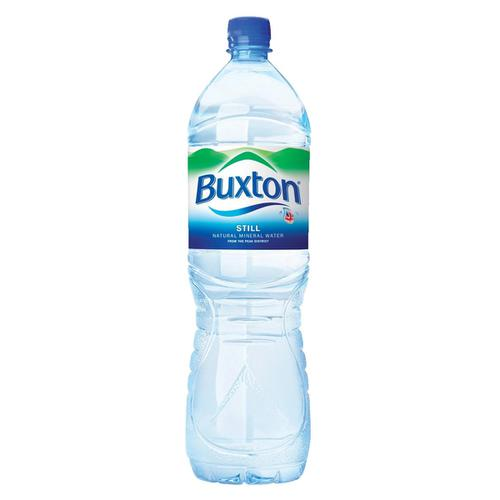 Buxton Natural Mineral Water Still Bottle Plastic 1.5 Litre Ref  [Pack 6]