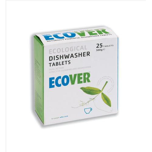 Ecover Dishwasher Tablets Environmentally-friendly Ref 1002089 [Pack 25]
