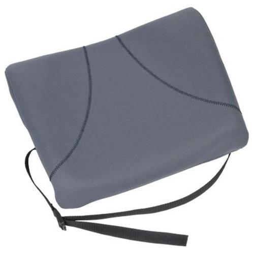 Fellowes Slimline Back Support Soft-touch & Adjustable Strap Graphite Ref 9190901 [REDEMPTION] Apr-Jun20