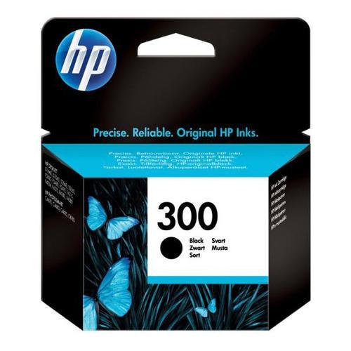 Hewlett Packard [HP] No.300 Inkjet Cartridge Page Life 200pp 4ml Black Ref CC640EE