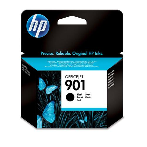 Hewlett Packard [HP] 901 Inkjet Cartridge Page Life 200pp 4ml Black Ref CC653AE