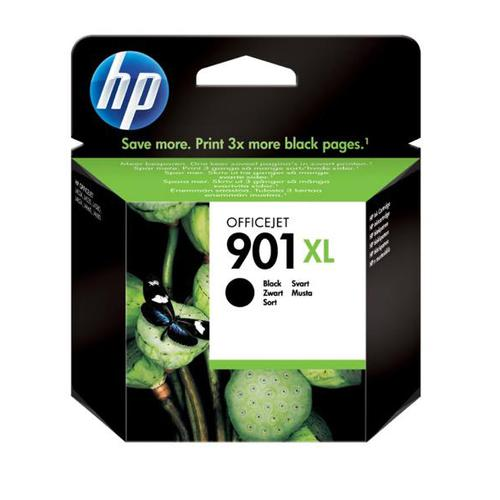 Hewlett Packard [HP] No.901XL Inkjet Cartridge High Yield Page Life 700pp 14ml Black Ref CC654AE