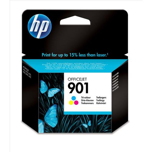Hewlett Packard [HP] 901 Inkjet Cartridge High Yield Page Life 360pp 9ml Tri-Colour Ref CC656AE