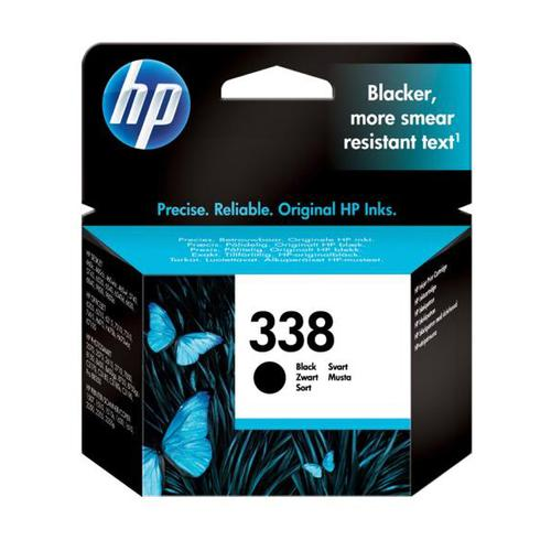 Hewlett Packard [HP] No.338 Inkjet Cartridge Page Life 480pp 11ml Black Ref C8765EE