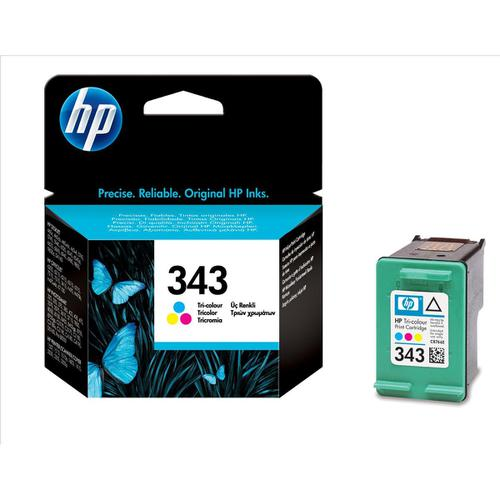 Hewlett Packard [HP] No.343 Inkjet Cartridge Page Life 260pp 7ml Tri-Colour Ref C8766EE
