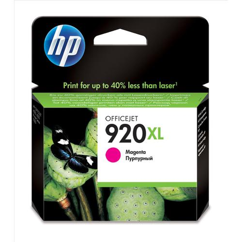 Hewlett Packard [HP] No.920XL Inkjet Cartridge High Yield Page Life 700pp 6ml Magenta Ref CD973AE