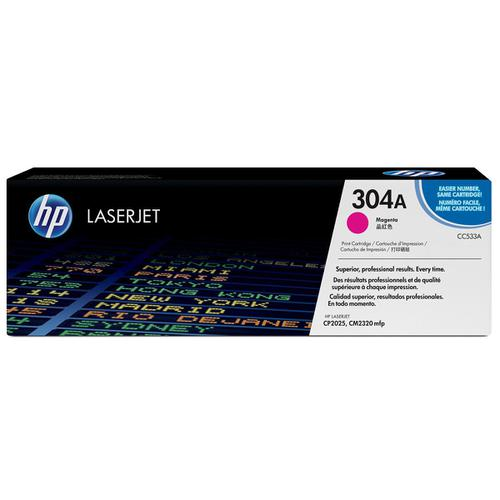 HP 304A Laser Toner Cartridge Page Life 2800pp Magenta Ref CC533A