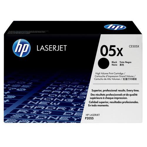 HP 05X Laser Toner Cartridge High Yield Page Life 6500pp Black Ref CE505X