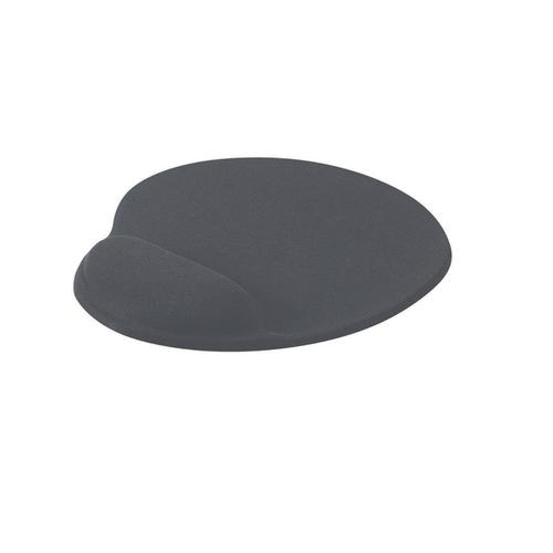 Mouse Mat Ergonomic Non Slip with Gel Wrist Rest Charcoal