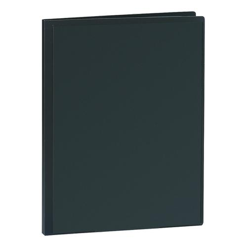 5 Star Office Display Book Personalisable Cover Polypropylene 30 Pockets A4 Black