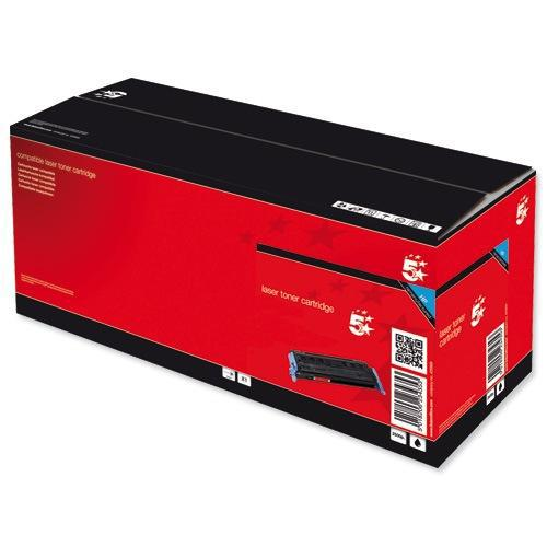 5 Star Office Remanufactured Laser Toner Cartridge Page Life 12000pp Black [HP 38A Q1338A Alternative]
