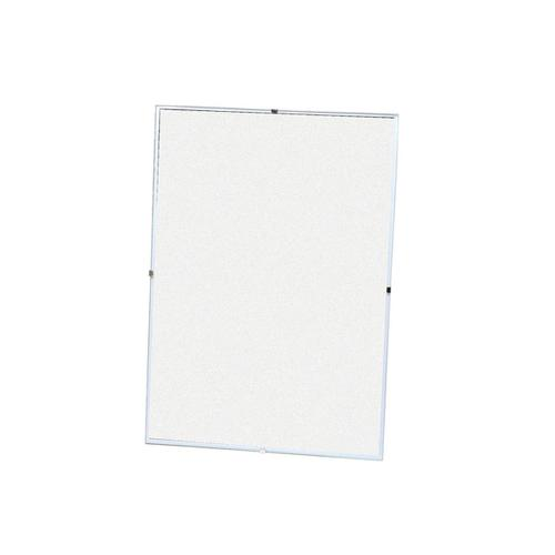 5 Star Office Clip Frame Plastic Front for Wall-mounting Back-loading Borderless A3 420x297mm Clear