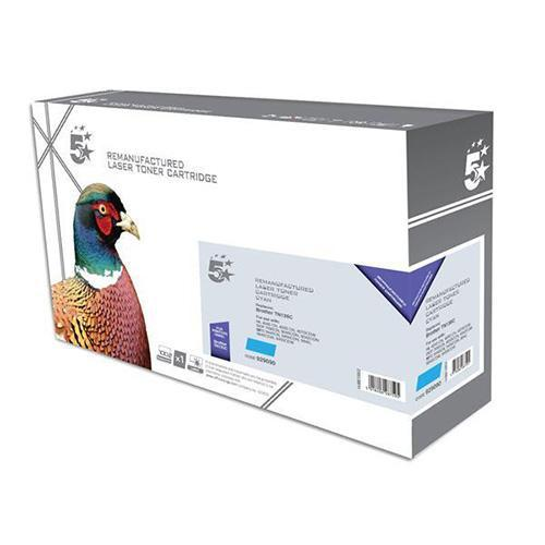 5 Star Office Remanufactured Laser Toner Cartridge Page Life 4000pp Cyan [Brother TN135C Alternative]