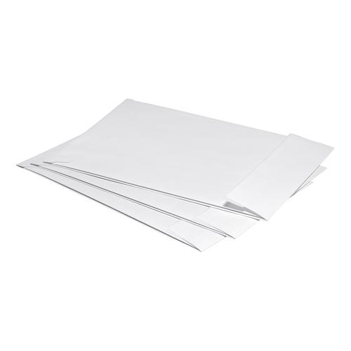 5 Star Office Envelopes C4 Gusset 25mm Peel and Seal 120gsm White [Pack 125]