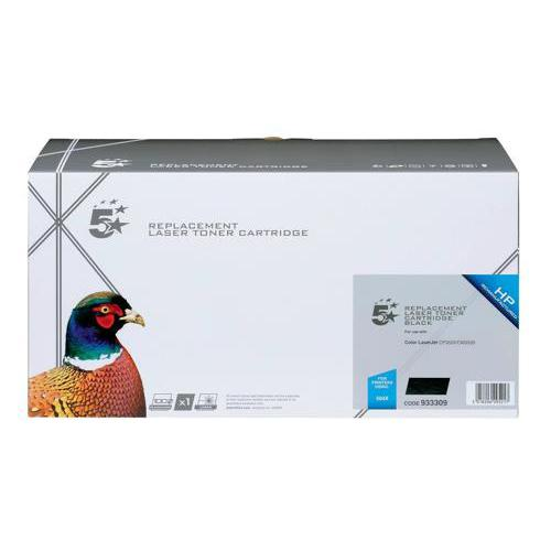 5 Star Office Remanufactured Laser Toner Cartridge HY 10500pp Black [HP 504X CE250X Alternative]