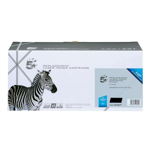 5 Star Office Remanufactured Laser Toner Cartridge Page Life 2200pp Black [HP 80A CF280A Alternative]