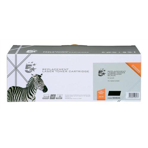 5 Star Office Reman Laser Toner Cartridge Page Life 7200pp Black [Kyocera TK-170 1T02LZ0NLC Alternative]