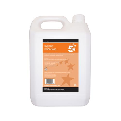 5 Star Facilities Hygiene Lotion Hand Soap 5 Litre