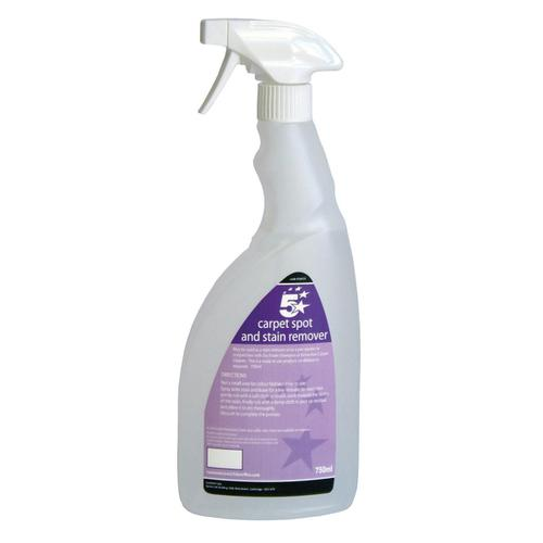 5 Star Facilities Carpet Spot & Stain Remover 750ml