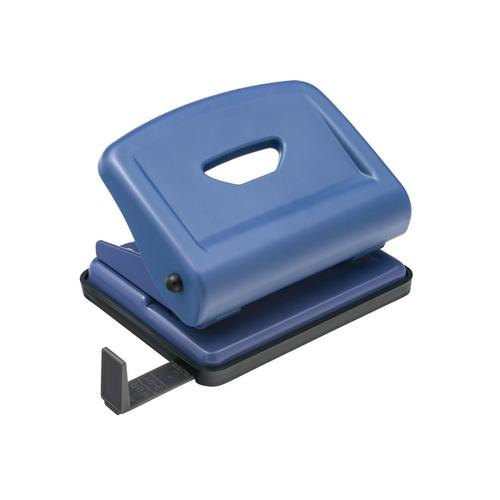 5 Star Office Punch ABS/Metal 2-Hole Capacity 22x 80gsm Blue